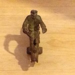 Cast Iron Harley Davidson Motorcycle Toy