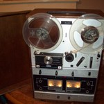 Akai reel to reel tape player
