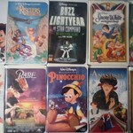 VHS DISNEY MOVIES AND SOME MISC.