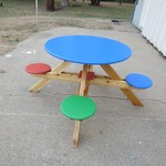 Handmade Children's Picnic/Play Table
