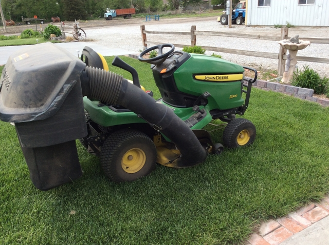 john deere x300 riding mower manual