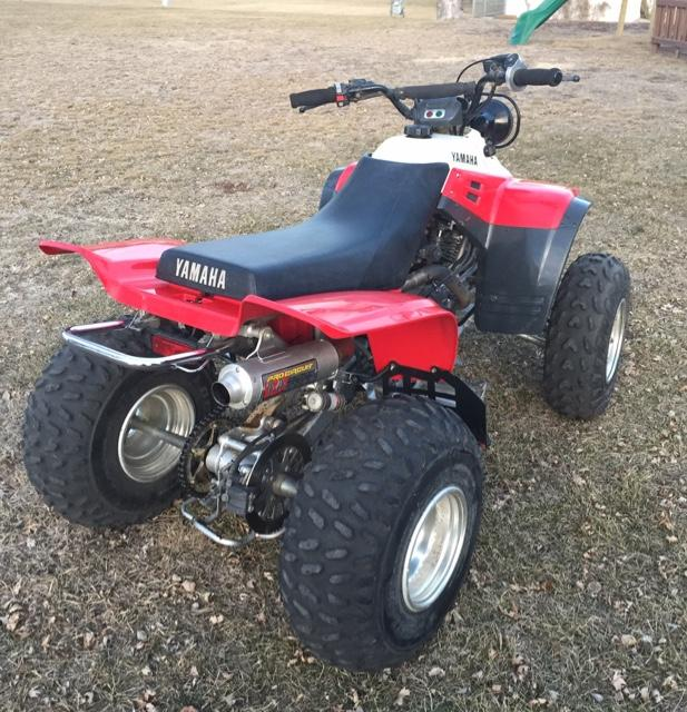 1998 yamaha warrior 350 nex tech classifieds