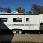 1998 Aerolite 25ft Fifth Wheel Camper
