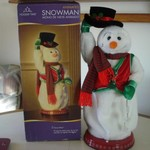 ANIMATED DANCING  XMAS SNOWMAN