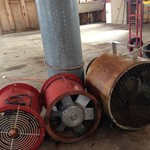 Caldwell Aeration Fan and tubes