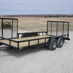 2014 Gator Made 16ft Landscape / UtilityTrailer