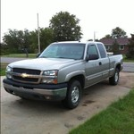 2003 Chevy Silverado 1500 Extended Cab LT Z71 4x4 Off Road