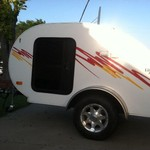 Little Guy Retro Camper-NEW LOW PRICE!