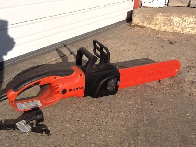 Dolmar commercial grade electric chainsaw
