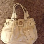 White Guess Purse