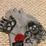 Hat & gloves boys skulls