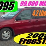 2005 Ford FREEStar Minivan RED 99k miles $4,995