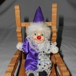 MINIATURE CLOWN DOLL