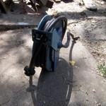 Air/Water Hose Reel with Hose