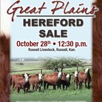 Great Plains Hereford Sale Oct. 28th