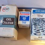 Co-op Oil Filters New Old Stock