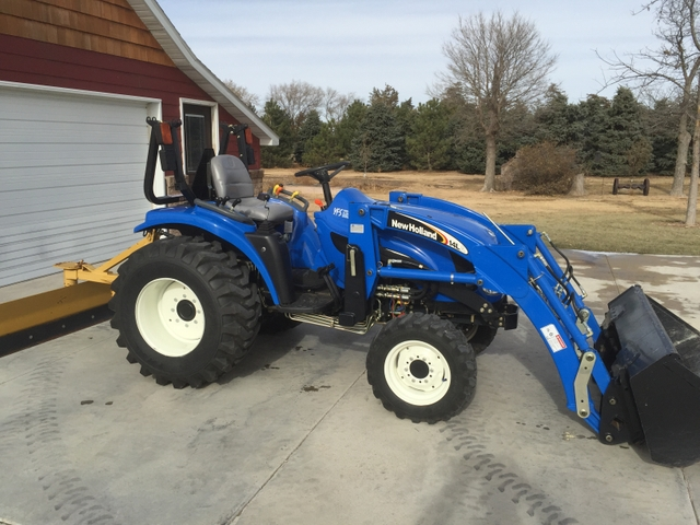 2006 new holland tc33da tractor with loader and attachments nex tech classifieds. Black Bedroom Furniture Sets. Home Design Ideas