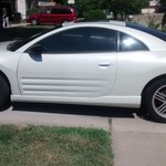 2003 MITSUBISHI ECLIPSE GTS W/LEATHER/SUNROOF! 105K! REBUILT