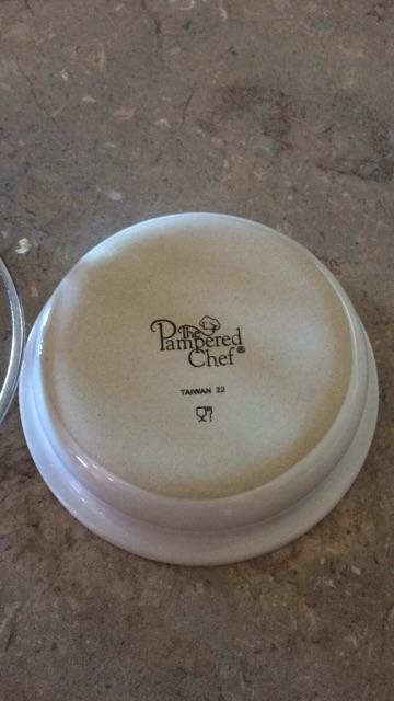 Pampered Chef spoon rest