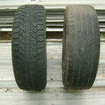 For Sale Two (2) 17 Inch Tires Yokohama & Michelin