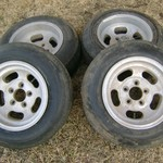 Vintage FORD Ansen SPRINT MAG 14 INCH WHEELS