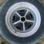 Vintage 14 Inch FORD MUSTANG RALLY WHEEL