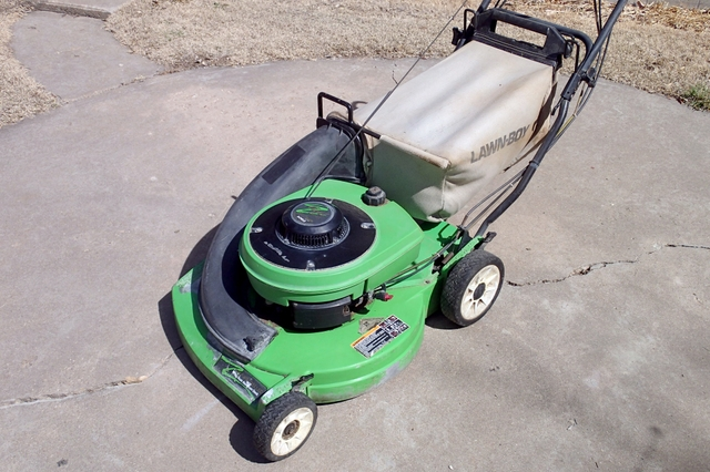 Lawn Mower Lawn Boy Gold Series Walk Behind Power Mower