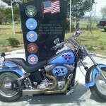 Air Force Harley Fatboy  REDUCED PRICE