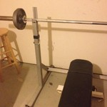 Bench press weight set