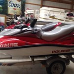 2005 Polaris jet ski 3 seater