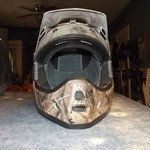 Brand New Camo Dirt Bike Helmet