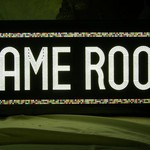 **GAME ROOM SIGN, BEAUTIFUL MULTICOLOR LIGHTS...**MUST SEE**