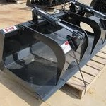 New! Skid Steer Grapple Bucket