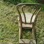 very old chair