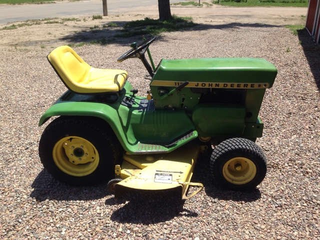 1970 John Deere 112 Engine Is Knocking Nex Tech Classifieds