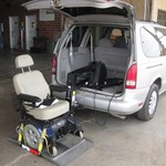 1996 Mercury Villager Van with power chair lift