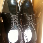 Bates High Gloss Leather Dress Shoes