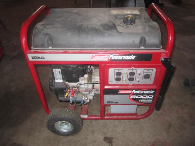 Coleman Powermate 8000 Generator, electric start