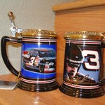 two dale earnhardt s mugs
