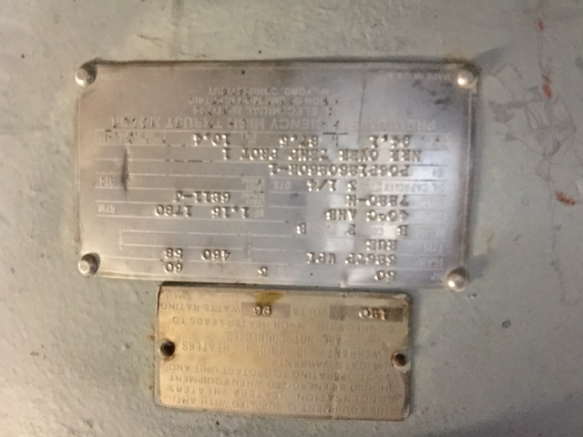 Vertical Hollow Shaft Motor 3 Phase Ptci Classifieds