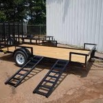 big tex 35SA utility trailer 14'
