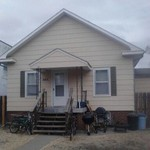 House for Rent 1/2 Block from FHSU Campus-private parking!