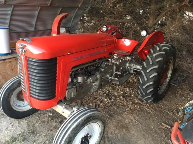 1959 Massey Ferguson 50 Tractor : Massey ferguson tractor pioneer classifieds