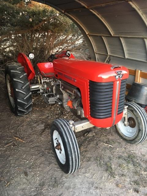 1959 Massey Ferguson 50 Tractor : Massey ferguson tractor nex tech classifieds