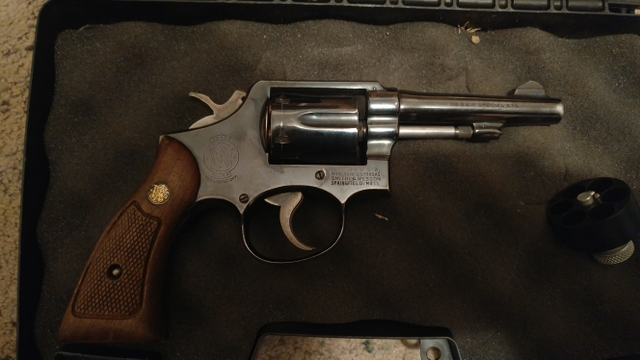 Smith and Wesson 38 Spl.