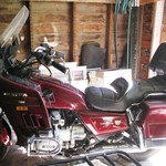 1986 Honda Goldwing GL1200 Interstate, full dress, 48K miles
