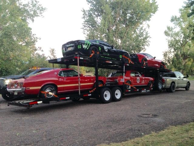 2009 Appalachian 4 car hauler stacker trailer