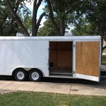 8.5' x 20' Enclosed Cargo Car Trailer Hauler