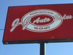 J-J Auto Sales logo
