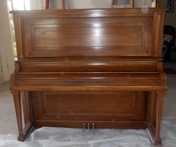 Contact Seller - Antique Upright Kimball Piano - Nex-Tech Classifieds
